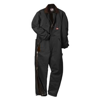 Dickies Premium Insulated Duck Coveralls Black