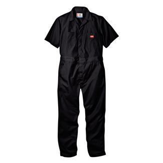 Dickies Short Sleeve Coveralls Black