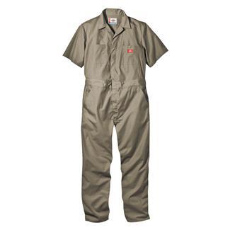 Dickies Short Sleeve Coveralls Khaki