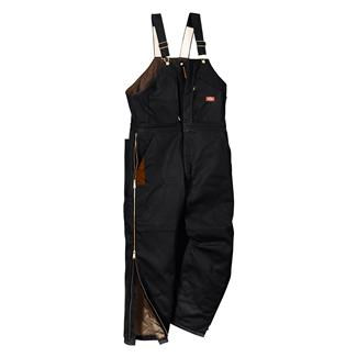 Dickies Premium Insulated Bib Overalls Black