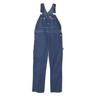 Dickies Stone Washed Bib Overalls Stonewashed Indigo Blue