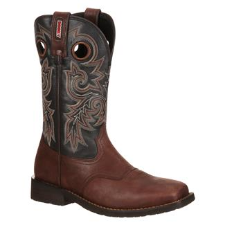 "Rocky 12"" Trail Bend Square Toe Brown / Charcoal"