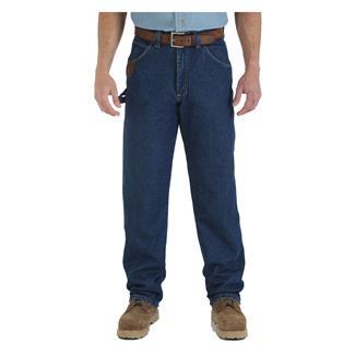 Wrangler Riggs Relaxed Fit Denim Work Horse Jeans Antique Indigo
