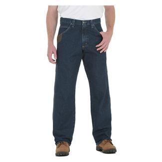 Wrangler Riggs Relaxed Fit Denim Contractor Jeans Antique Indigo