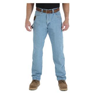 Wrangler Riggs Relaxed Fit Denim Carpenter Jeans Vintage Indigo