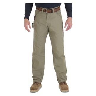 Wrangler Riggs Relaxed Fit Ripstop Carpenter Jeans Bark