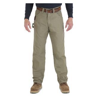 Wrangler Riggs Relaxed Fit Ripstop Carpenter Jeans Bark