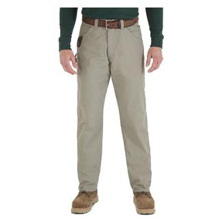 Wrangler Riggs Relaxed Fit Ripstop Carpenter Jeans Dark Khaki