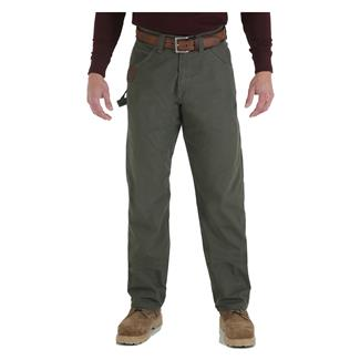 Wrangler Riggs Relaxed Fit Ripstop Carpenter Jeans Loden