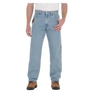 Wrangler Riggs Relaxed Fit Denim Five Pocket Jeans Vintage Indigo
