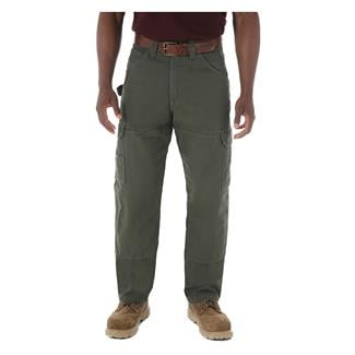 Wrangler Riggs Relaxed Fit Ripstop Ranger Pants Loden