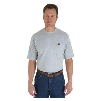 Wrangler Riggs Pocket T-Shirt Ash Heather