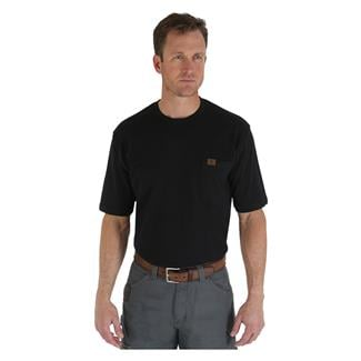 Wrangler Riggs Pocket T-Shirt Black