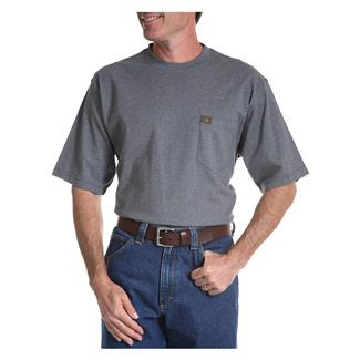 Wrangler Riggs Pocket T-Shirt Charcoal Grey