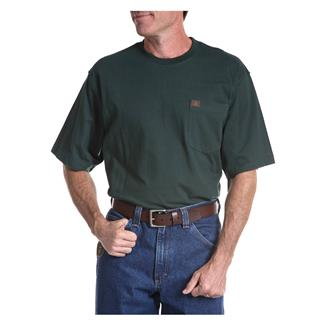 Wrangler Riggs Pocket T-Shirt Forest Green