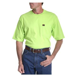 Wrangler Riggs Pocket T-Shirt Safety Green