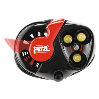 Petzl e+Lite Headlamp White Black / Red