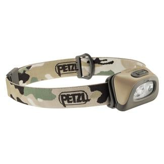 Petzl Tactikka Plus Headlamp Camo White / Red