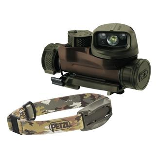 Petzl Strix IR Headlamp Camo White / Red / Green / Blue / IR