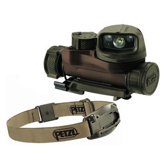 Petzl Strix IR Headlamp White / Red / Green / Blue / IR Desert