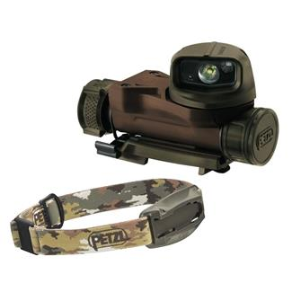 Petzl Strix VL Headlamp White / Red / Green / Blue Camo
