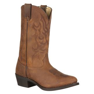 "Durango 12"" Western Leather Distressed Brown"