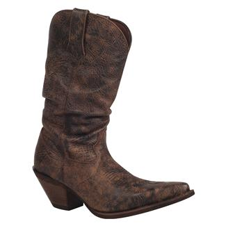 "Durango 11"" Crush Drunken Slouch Dark Bourbon"