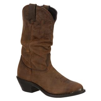 "Durango 11"" Western Slouch Distressed Tan"