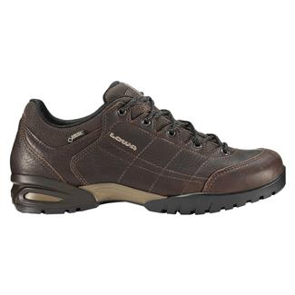 Lowa Hudson GTX LO Dark Brown