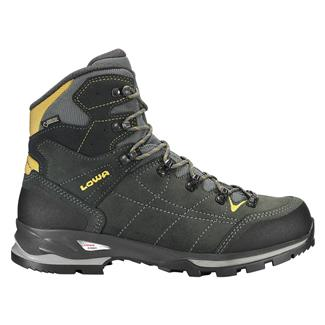 Lowa Vantage GTX Mid Anthracite / Yellow