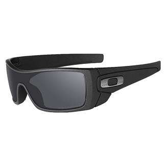 Oakley SI Batwolf Cerakote Cobalt (frame) - Black Iridium Polarized (lens)