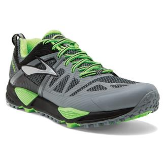 Brooks Cascadia 10 Primer Gray / Black / Green Gecko