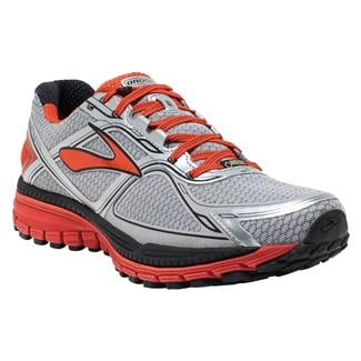 Brooks Ghost 8 GTX Silver / Poinciana / Black