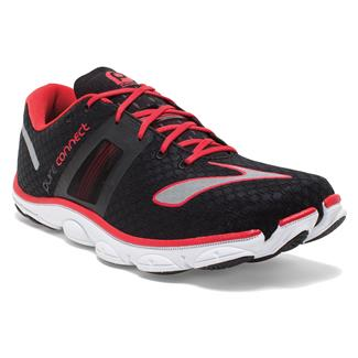 Brooks PureConnect 4 Black / High Risk Red / Silver