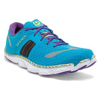 Brooks PureConnect 4 Atomic Blue / Lime Punch / Tillandsia Purple