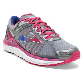 Brooks Transcend 2 Metallic Charcoal / Raspberry / Spectrum Blue