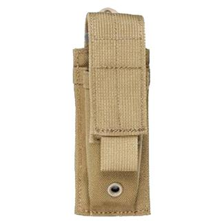 Blackhawk S.T.R.I.K.E. Single Pistol Mag Pouch Coyote Tan