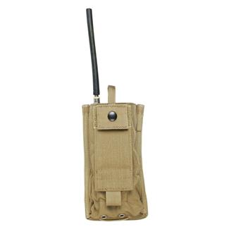 Blackhawk Radio Pouch Coyote Tan