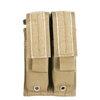 Blackhawk Double Pistol Mag USA Pouch Coyote Tan