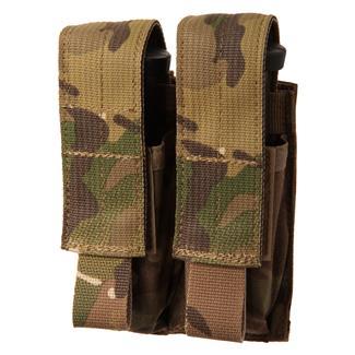 Blackhawk Double Pistol Mag USA Pouch Multicam