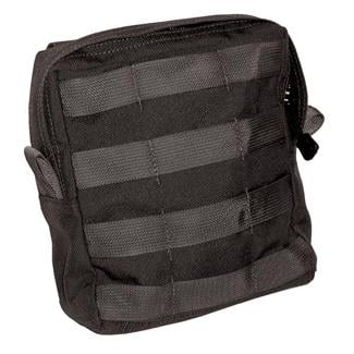 Blackhawk Large Zipper Utility USA Pouch Black
