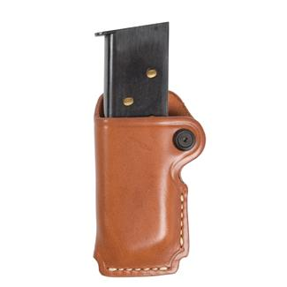 Blackhawk Leather Magazine Case Brown
