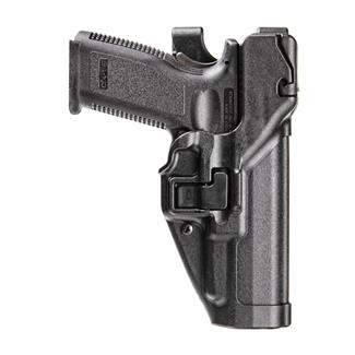 Blackhawk Serpa Level 3 Auto Lock Duty Holster Matte Black