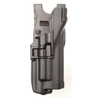 Blackhawk Serpa Level 3 Light Bearing Auto Lock Duty Holster Matte Black