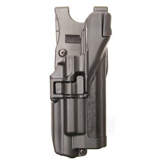 Blackhawk Serpa Level 3 Light Bearing Auto Lock Duty Holster Plain Black