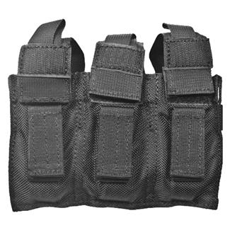 Blackhawk Belt Mounted Triple Mag Pouch Black