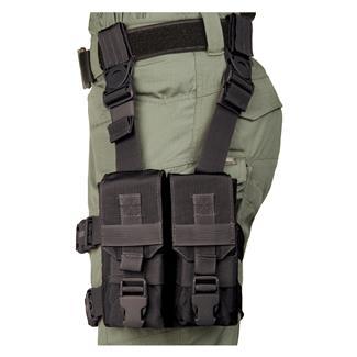 "Blackhawk M16 ""Y"" Thigh Rig Black"