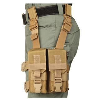 "Blackhawk M16 ""Y"" Thigh Rig Coyote Tan"