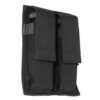 Blackhawk Hook Backed Double Pistol Mag Pouch Black