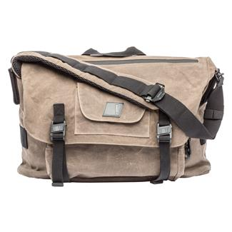 Blackhawk Diversion Wax Canvas Messenger Bag Earth